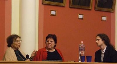 Heller Ágnes és Jutta Hausmann