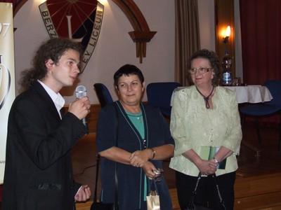 Lengyel Anna és Jókai Anna Sopronban