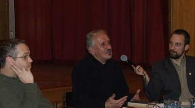 Ócsai Zoltán és Szemadám György; moderátor: Mesterházy Balázs