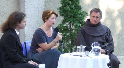 Roszík Ágnes és Böjte Csaba