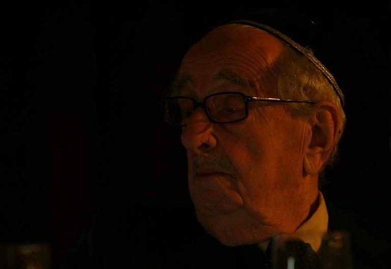 Schweitzer József nyugalmazott országos főrabbi - big