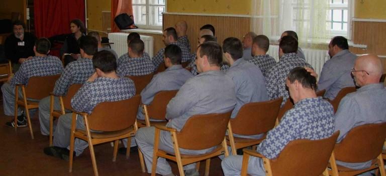 Simon Andrással a Váci Fegyház és Börtönben - big