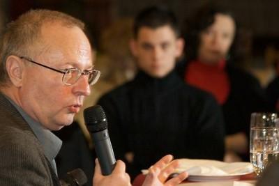 Spiró György az Asztali beszélgetések rendezvénysorozaton