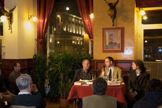 Spiró György és Csepregi András az Asztali beszélgetéseken - big