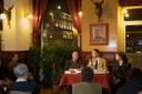 Spiró György és Csepregi András az Asztali beszélgetéseken - thumbnail