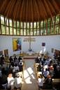 Teltházas ünnepi oltárképavató istentisztelet