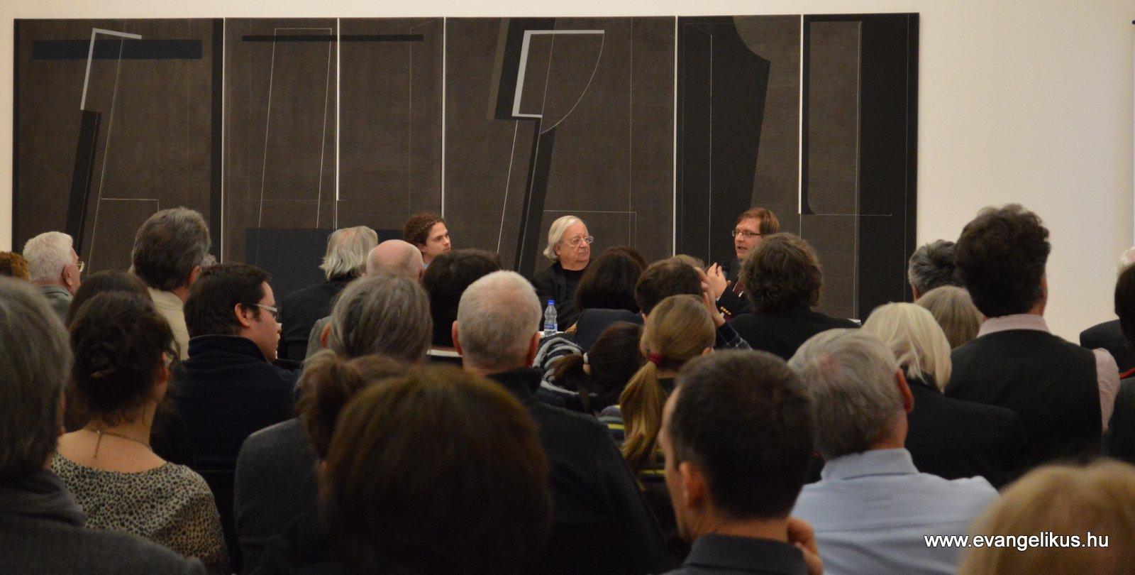 Konok Tamás és Fabiny Tamás disputájával új sorozat indult a Ludwig Múzeumban