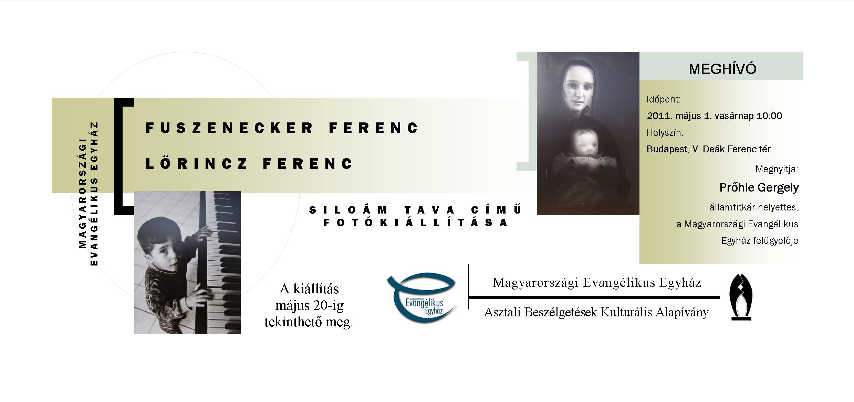Megnyílt Fuszenecker Ferenc és Lőrincz Ferenc fotókiállítása