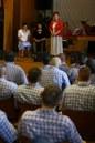 Szvorák Katalin a váci börtönben