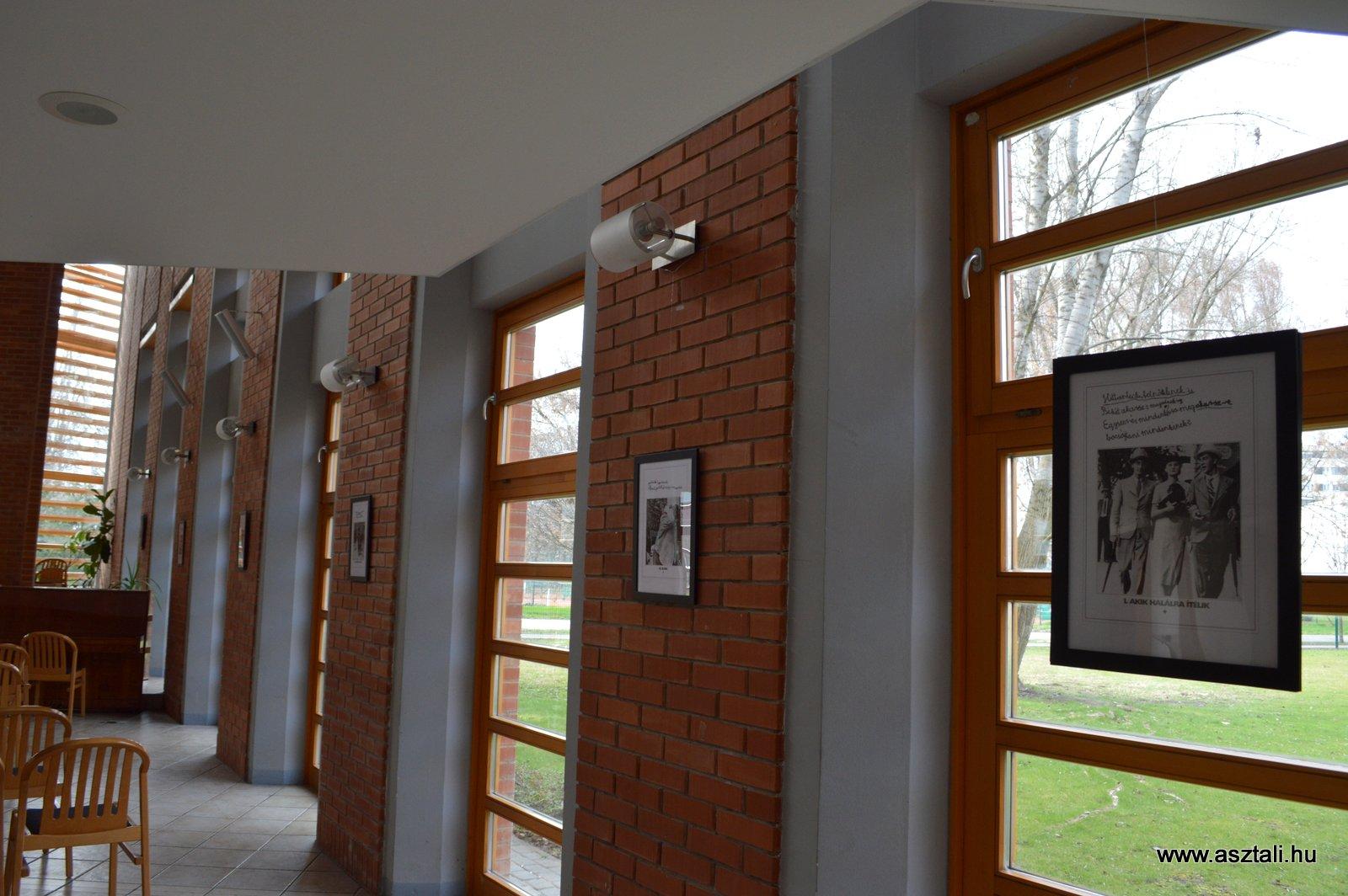 Váli Dezső: Hittanlecke a keresztútról - böjti kiállítás Budapesten