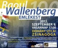 Emlékest Raoul Wallenberg tiszteletére