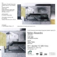 Grafit-tájak - Nádas Alexandra kiállítása