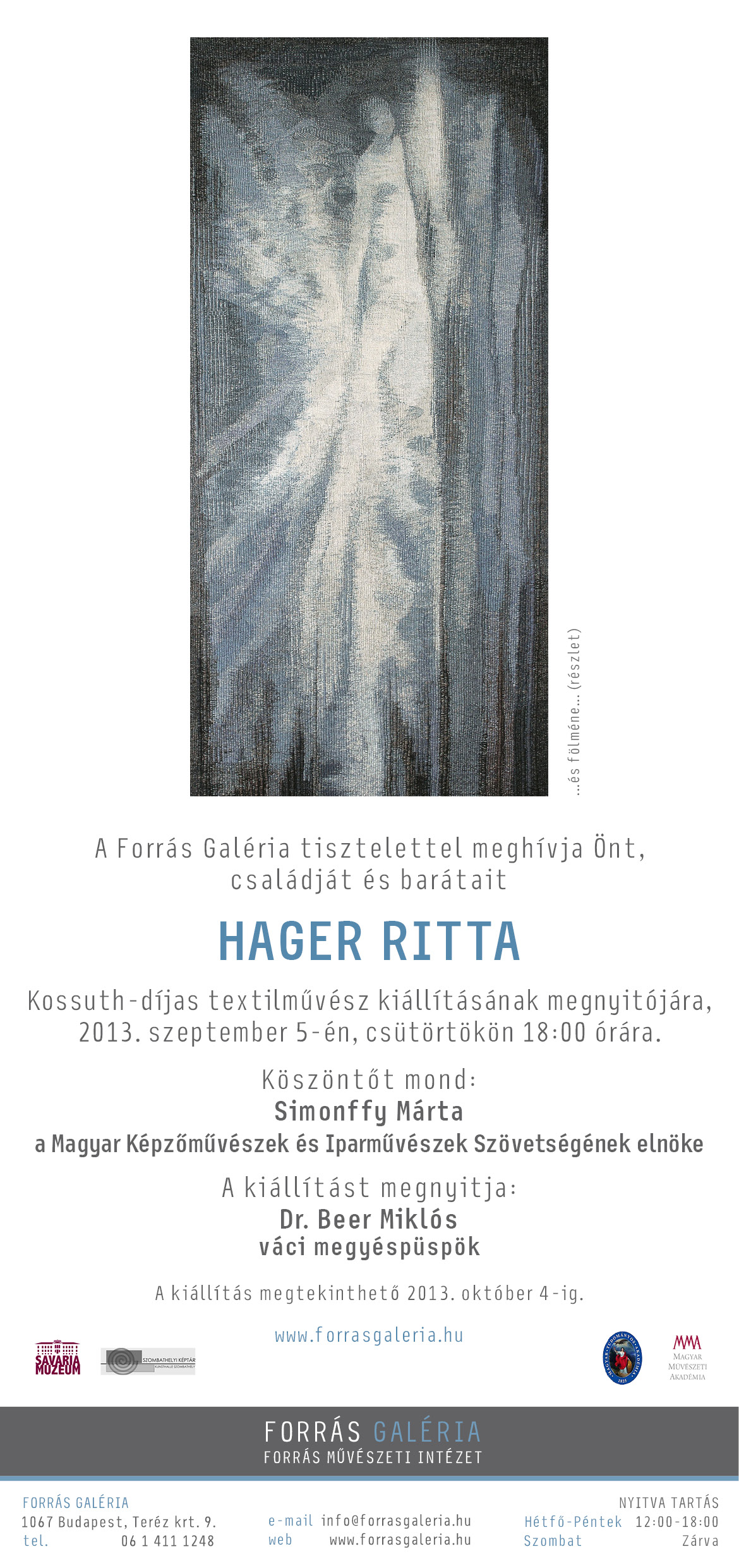 Hager Ritta kiállítása