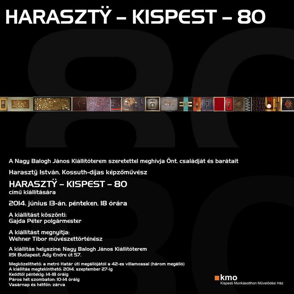 Haraszty István kiállítása