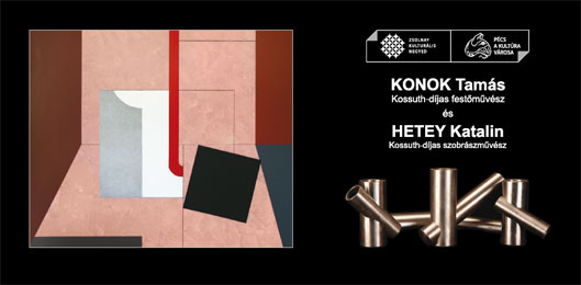 Konok Tamás és Hetey Katalin kiállítása