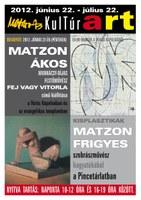 Matzon Ákos és Matzon Frigyes kiállítása - kiállításmegnyitó