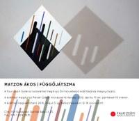 Matzon Ákos kiállítása