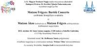Matzon Frigyes szobrának avatása és Matzon kiállítás