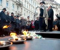 Megemlékezés a budapesti gettó felszabadításának 71. évfordulója alkalmából