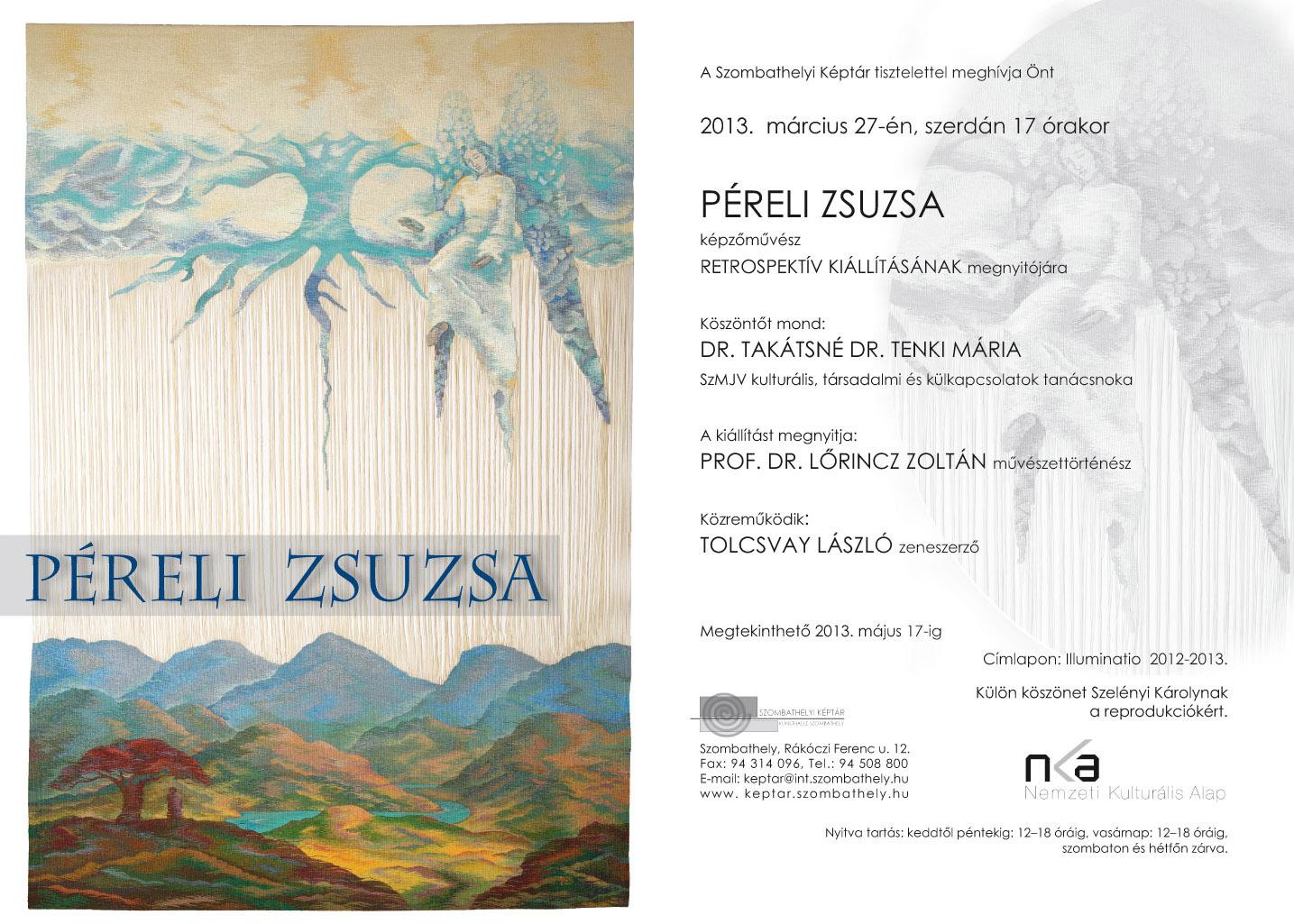 Péreli Zsuzsa kiállítása