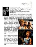 Szvorák Katalin: A capella